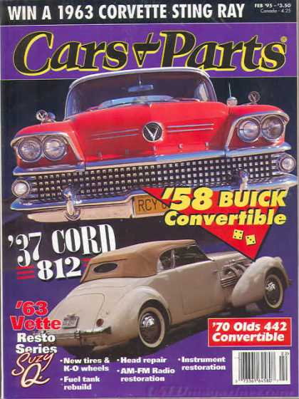 Cars & Parts - February 1995