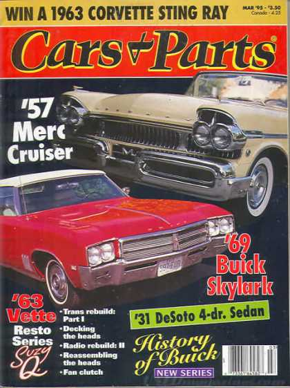 Cars & Parts - March 1995
