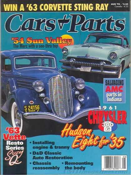 Cars & Parts - August 1995