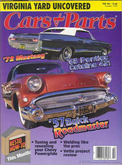 Cars & Parts - February 1996