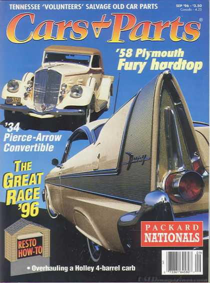 Cars & Parts - September 1996
