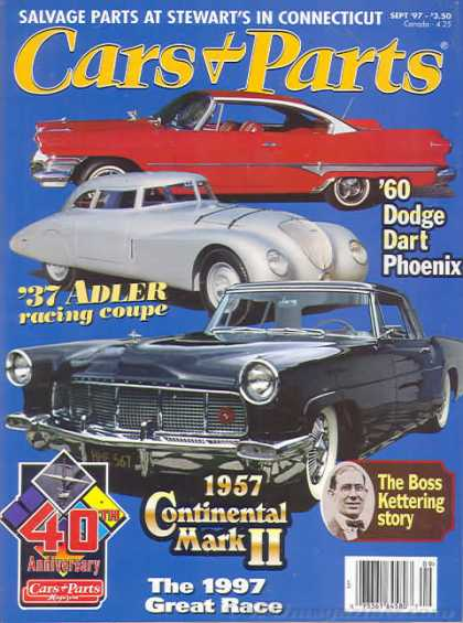 Cars & Parts - September 1997