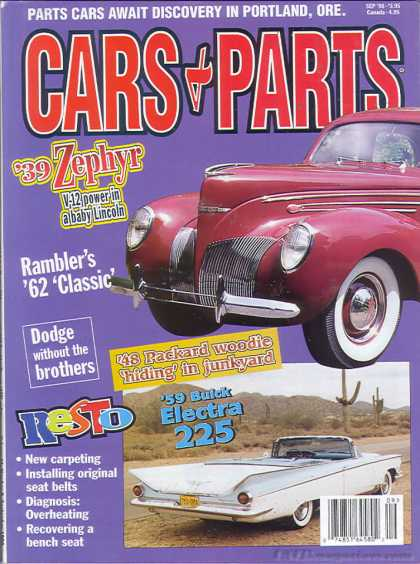 Cars & Parts - September 1998