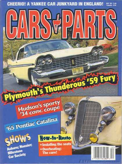 Cars & Parts - December 1998