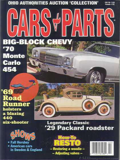 Cars & Parts - February 1999