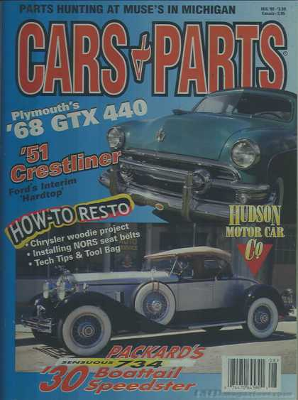 Cars & Parts - August 1999