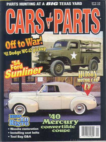Cars & Parts - September 1999