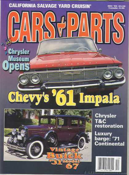 Cars & Parts - December 1999