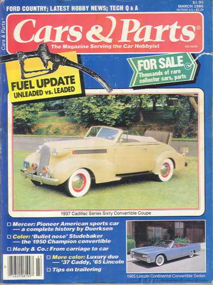 Cars & Parts - March 1986