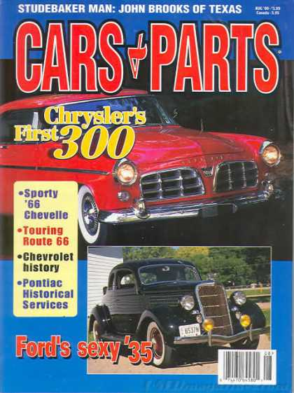 Cars & Parts - August 2000