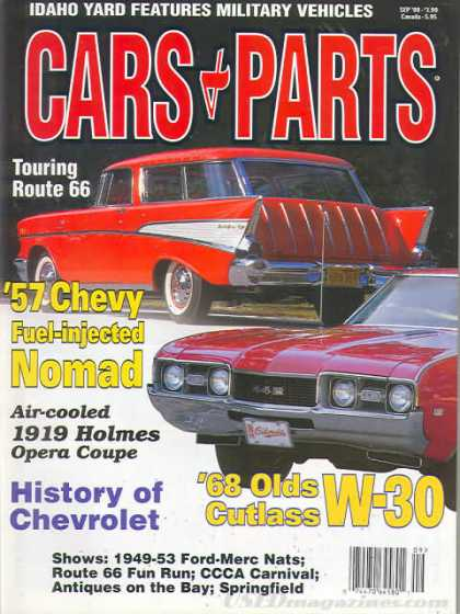 Cars & Parts - September 2000