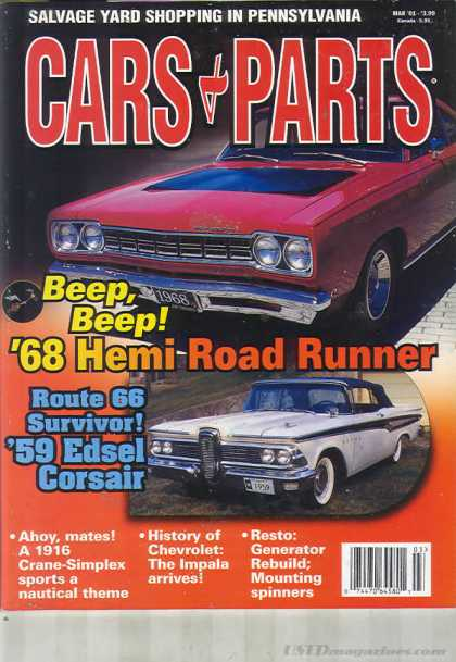 Cars & Parts - March 2001