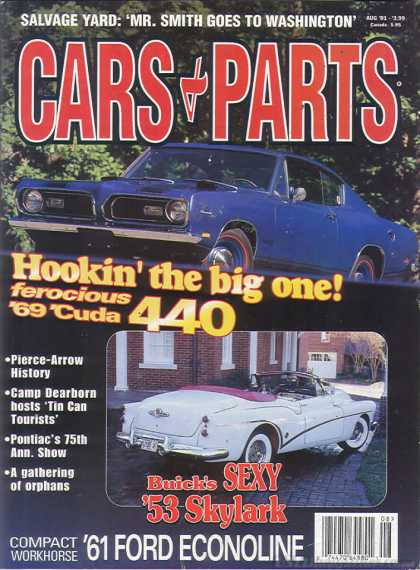 Cars & Parts - August 2001