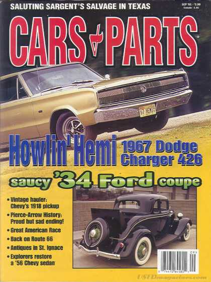 Cars & Parts - September 2001