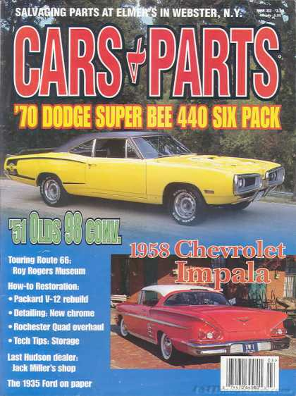 Cars & Parts - March 2002