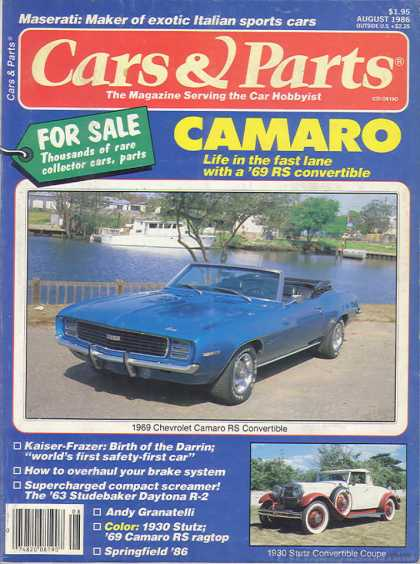 Cars & Parts - August 1986