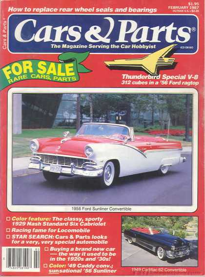 Cars & Parts - February 1987