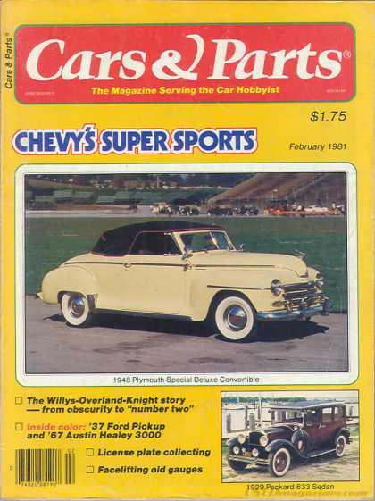 Cars & Parts - February 1981