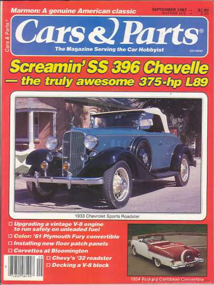 Cars & Parts - September 1987