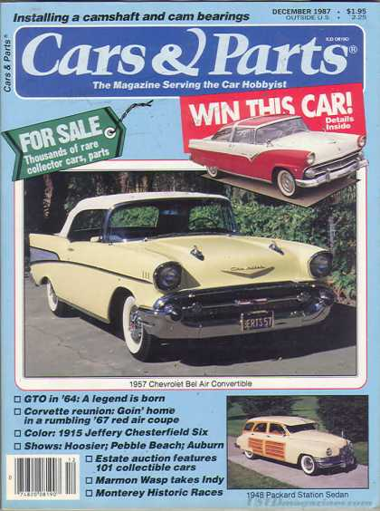 Cars & Parts - December 1987