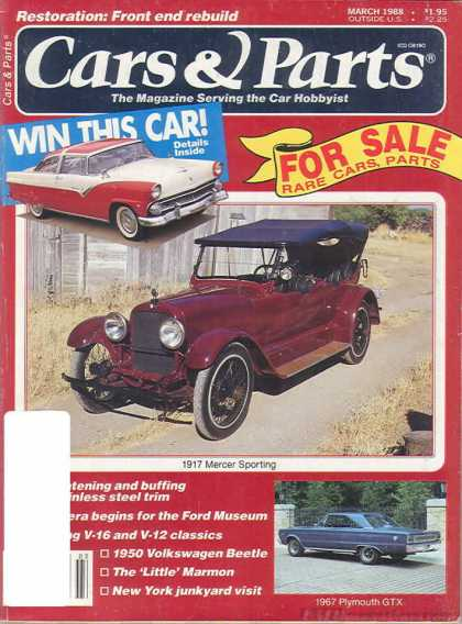 Cars & Parts - March 1988