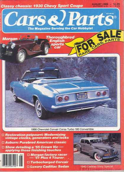 Cars & Parts - August 1988
