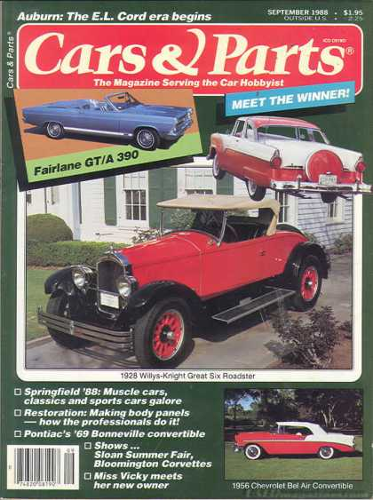 Cars & Parts - September 1988