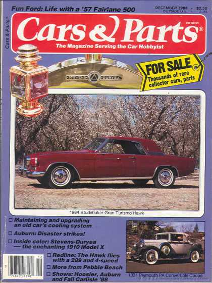 Cars & Parts - December 1988