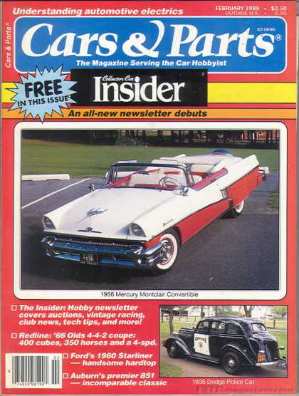 Cars & Parts - February 1989