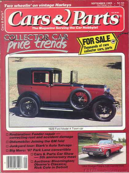 Cars & Parts - September 1989