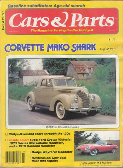 Cars & Parts - August 1981