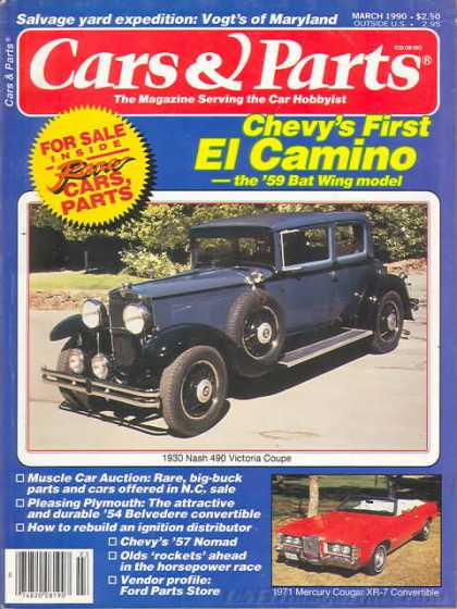 Cars & Parts - March 1990