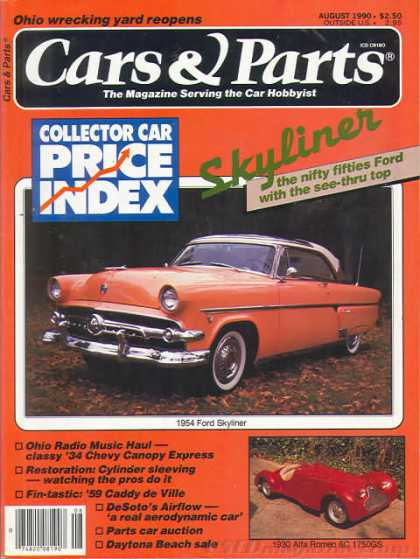 Cars & Parts - August 1990