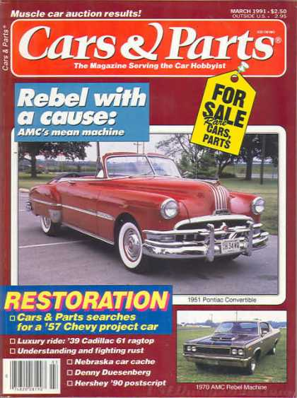 Cars & Parts - March 1991
