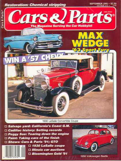 Cars & Parts - September 1991