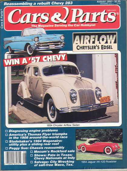 Cars & Parts - August 1992