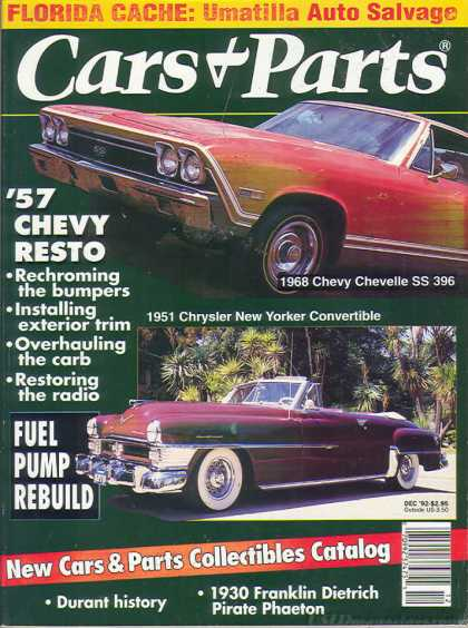 Cars & Parts - December 1992