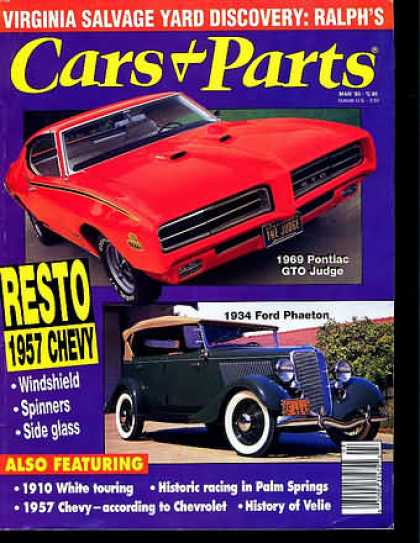 Cars & Parts - March 1993