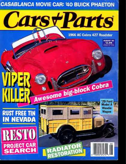 Cars & Parts - August 1993