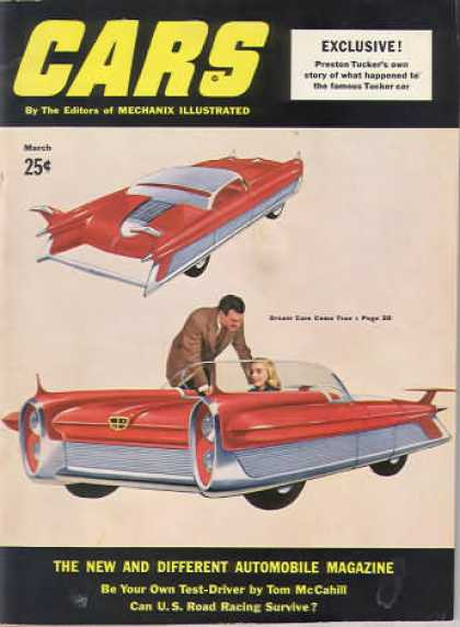 Cars - March 1953