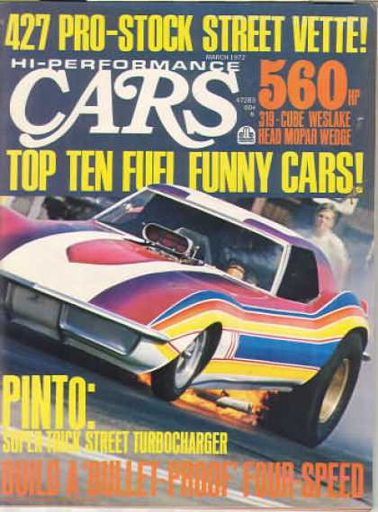 Cars - March 1972