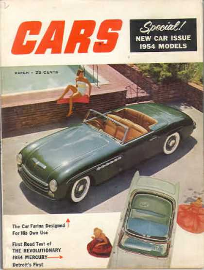 Cars - March 1954