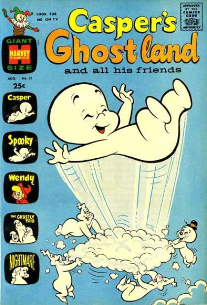 Casper's Ghostland 31 - And All His Friend - Spooky - Wendy - Nightmare - The Ghostly Trio