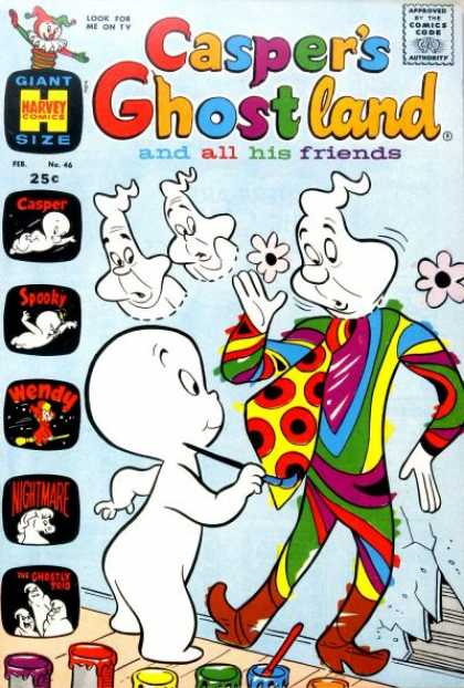 Casper's Ghostland 46 - Child - Friendly Ghost - Scary - Playful - Creative
