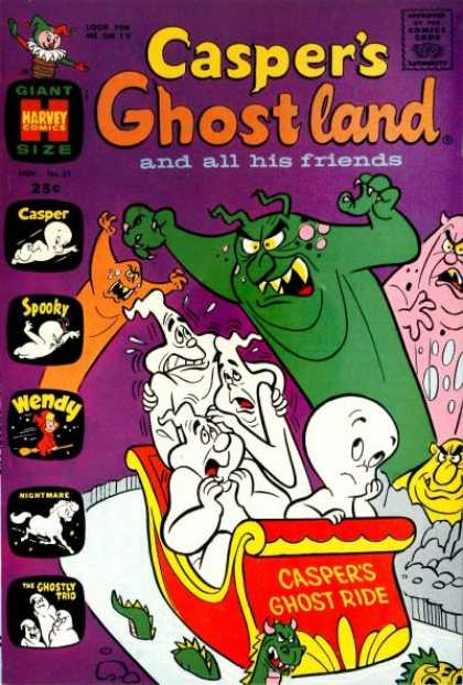 Casper's Ghostland 51 - Ghost Ride - Ghostly Trio - Serpent - Nightmare - Jester