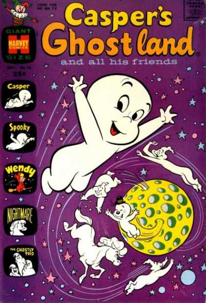 Casper's Ghostland 56 - Spooky - Wendy - Nightmare - The Ghostly Trio - Friends