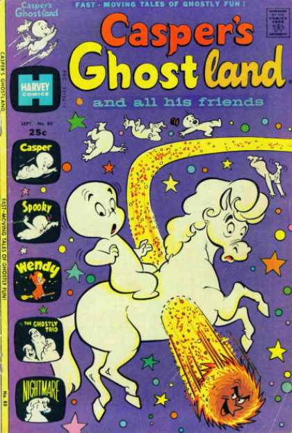 Casper's Ghostland 80 - Casper - Spooky - Wendy - The Ghostly Trio - Nightmare