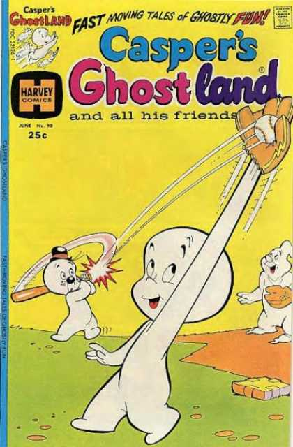 Casper's Ghostland 90 - Friendliest Helper - Being A Team Player - Be Good Not Evil - Supreme Baseball Game - Friendly Spirit
