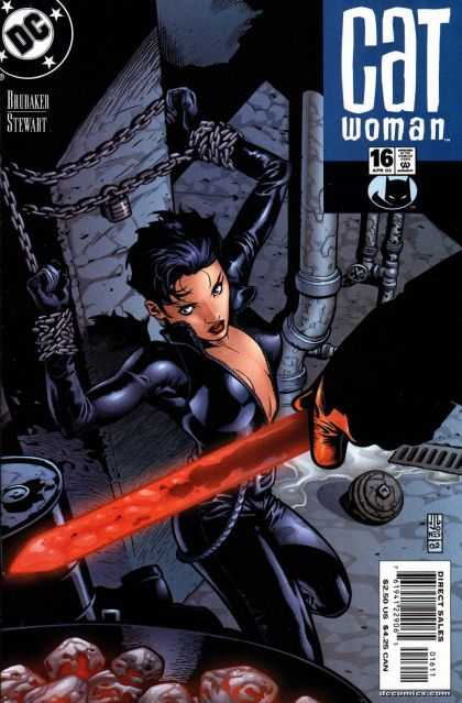 Catwoman (2001) 16 - Cat Woman In Chains - The Underground Battle - Sword Of Fire - Hot Coals - Playing With Fire