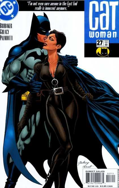 Catwoman (2001) 27 - Dc - Batman - Cleavage - Brubaker - Lust